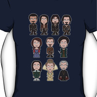The Musketeers: The Whole Cast (shirt) Women's T-Shirt