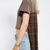 Urban Outfitters - Urban Renewal Flannel High/Low Tee