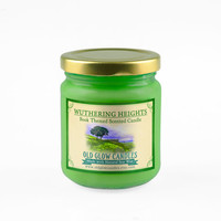 Wuthering Heights Inspired Scented Soy Candle - Emily Brontë