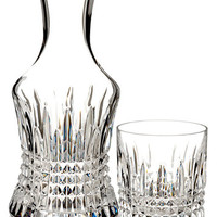 Waterford Lismore Diamond Carafe with Small Glass | macys.com