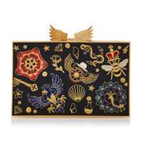 Futopia Mix Silk Clutch | Moda Operandi