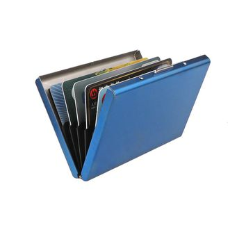 RFID Blocking Stainless Steel Credit Card Holder/Wallet