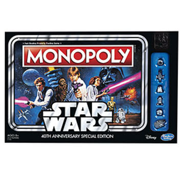 Star Wars 40th Anniversary Monopoly