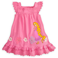 Disney Rapunzel Woven Dress for Girls | Disney Store