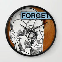 Forget Wall Clock by g-man