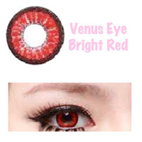 Venus Eye Lens - Bright Red