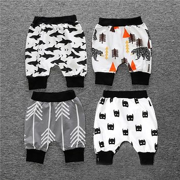 Boys girls children pants children pants boys girls batman cartoon pattern children's clothing