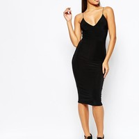 Club L | Club L Midi Dress with Cami Strap at ASOS