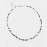 Basic Silver Chain Necklace- Silver One