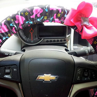 Barbie Steering Wheel Covers with Bow
