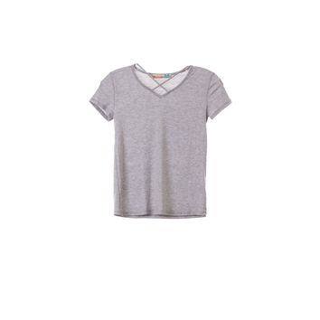 Vintage Havana Girls Strappy V-neck Grey