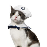Sailor Nautical Costume for Cats