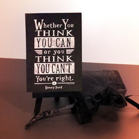 Mini Art and Easel Gift Package | Henry Ford - Whether You Think You Can...