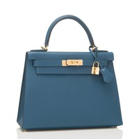 Hermes Colvert Epsom Sellier Kelly 28cm Gold Hardware