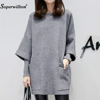 Hoodie Sweatshirt 2018 Winter Autumn Kawaii Women Hoodies Cotton Long Sleeve Pullover Female Fall Plus Size Lady's Clothing C13