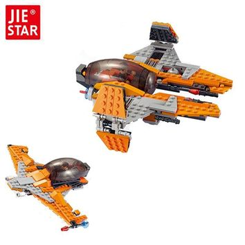 Star Wars Force Episode 1 2 3 4 5 290pcs  2 in 1 Spaceship Fighter Clone  fighter  troopers Ships Building Blocks Compatible with 05030 AT_72_6