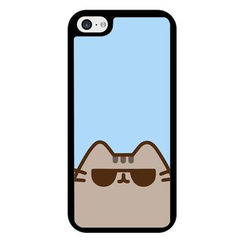 Pusheen The Cat Face iPhone 5/5S/SE Case
