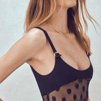 Clementine Dot Bodysuit – For Love & Lemons