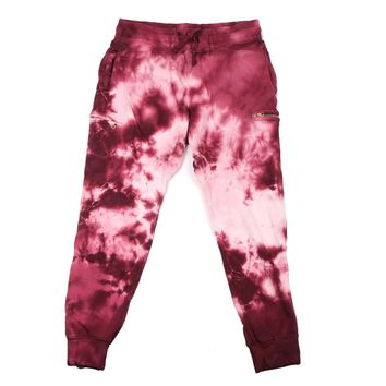 Del Toro x Cotton Citizen Oxblood Tie Dye Cargo Pant - Apparel - Men's