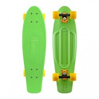 Penny Skateboards USA penny 27 inch skateboard,twenty seven inch,green,yellow