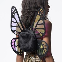 MYSTICAL MONARCH MINI BACKPACK - BLACK
