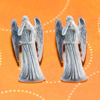 Doctor Who Weeping Angels Earrings