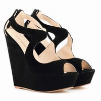 High Heels Women Summer Shoes Open Toe Wedges Shoes Heel Women Pumps