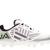 Under Armour Wmns Finisher Lacrosse Cleats 2016 - White/Silver | Lacrosse Unlimited