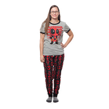 Deadpool Kawaii Ladies' Sleep Set