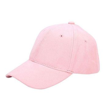 PEAPU3S Summer Spring 2017 New Fashion Adult baseball Cap Cotton Caps Women Solid Cap Women Pink Hats Snapback Women Caps