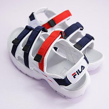 FILA Woman Men Casual Fashion Beach Slipper Sandals Shoes