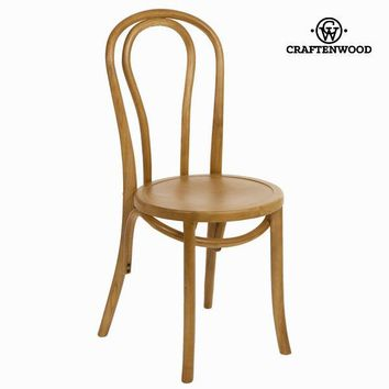 Vintage wood chair by Craften Wood