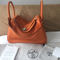 Authentic Hermes Lindy 30 Bag