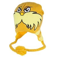 Dr. Seuss - Lorax Big Face Peruvian Knit Hat