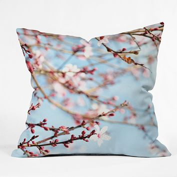 Lisa Argyropoulos Emerging Throw Pillow