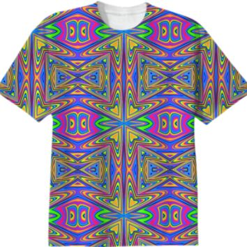 Totally Psychedelic created by Idle Amusement | Print All Over Me