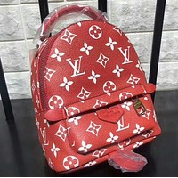 Supreme LV Fashion Sport Laptop Bag Shoulder School Bag Backpack
