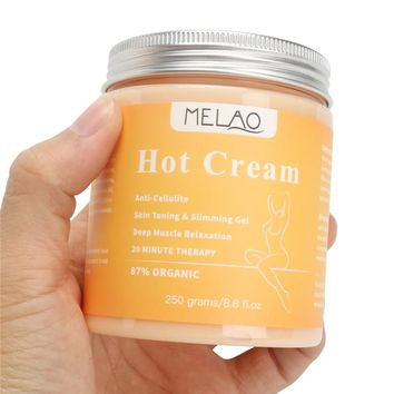 Organic Anti-Cellulite Slimming Body Scrub Cream