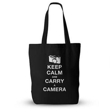 PFTTEBG015 Keep Calm And Carry A Camera Tote Bag