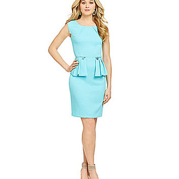Antonio Melani Playing Favorites Ada Peplum Dress | Dillards.com