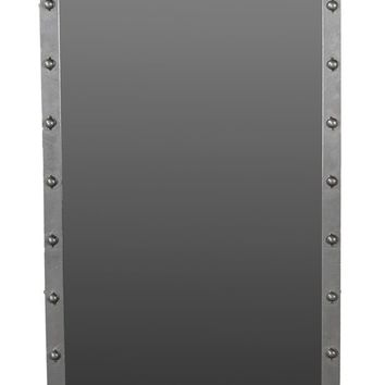 Lang Floor Mirror Industrial Dark Grey