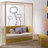 Dr. Seuss Truffula Tree Vinyl Wall Decals