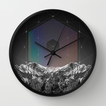 It Cannot Block Out the Sun Wall Clock by Soaring Anchor Designs