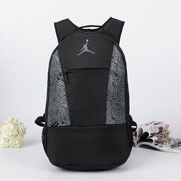 Jordan Fashion Sport Travel Shoulder Bag Satchel School Backpack