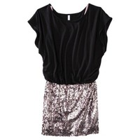 Xhilaration® Juniors Sequin  Body Con Dress - Assorted Colors