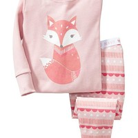 Old Navy Fox Sleep Sets For Baby
