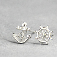 Cute Navy Style Earrings for Women