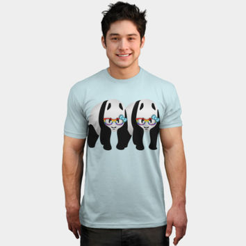 Gay Pride Panda Bears T Shirt By Mailboxdisco Design By Humans