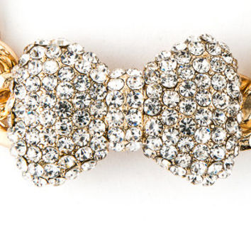 Bang and Bob The Brilliant Bow Bracelet in Gold