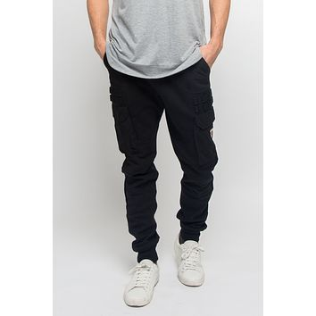 Side Pocket Taslan Jogger Pants